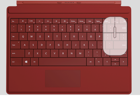Surface Type Cover or Keyboard Typing problems