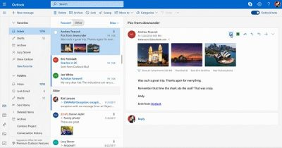 New Mail, Calendar, and People experiences in Outlook.com