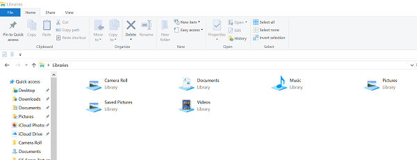 Windows 10 Explorer