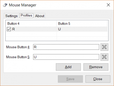 Mouse Manager for Windows