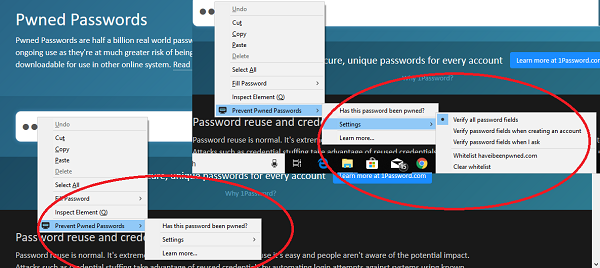 Prevent Pwned Passwords Add-on for Firefox