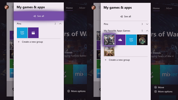 Create Groups in Xbox One