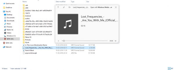 Preview files with QuickLook for Windows 10