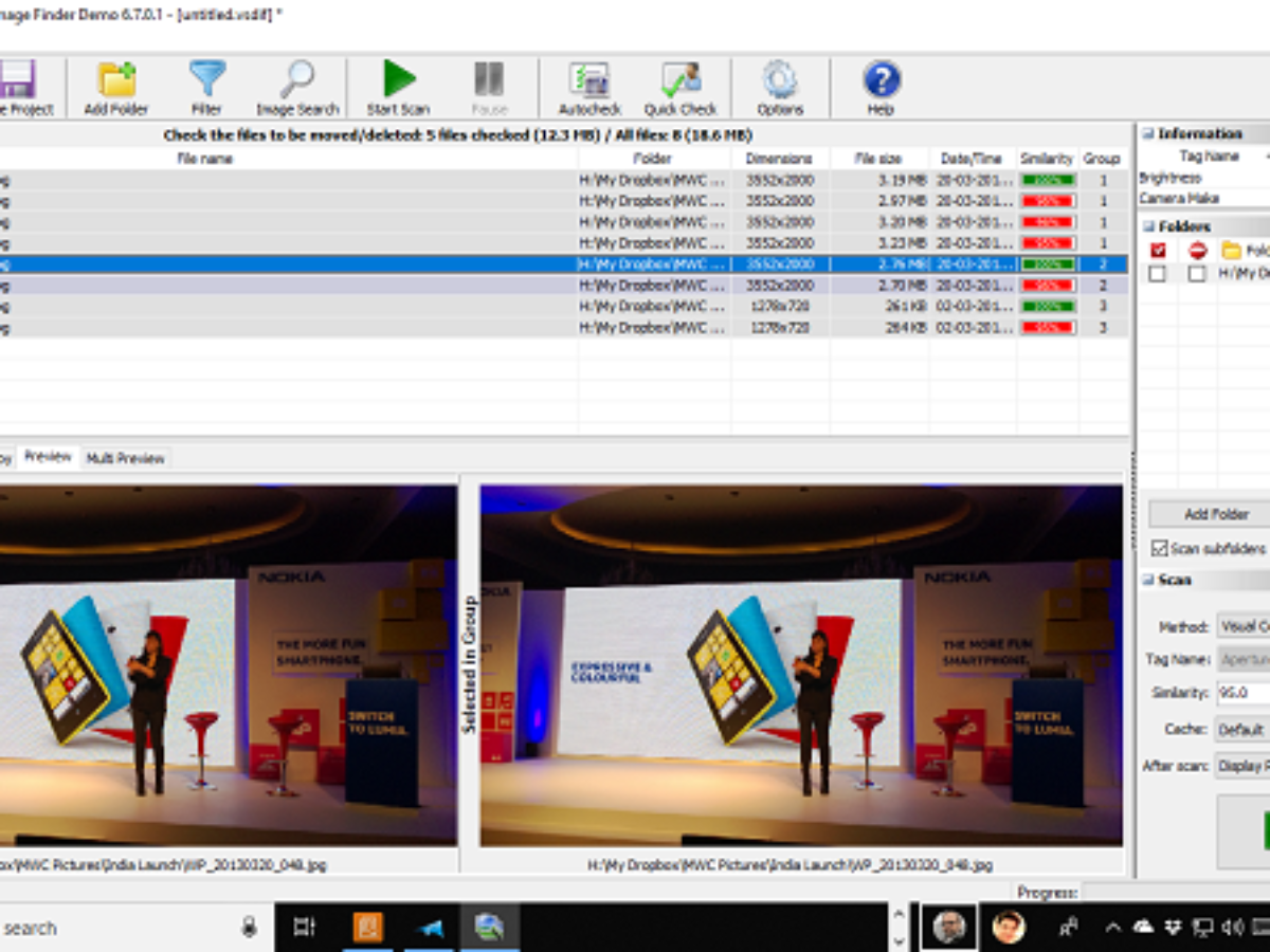 Free Duplicate Photo Cleaner And Remover Software For Windows