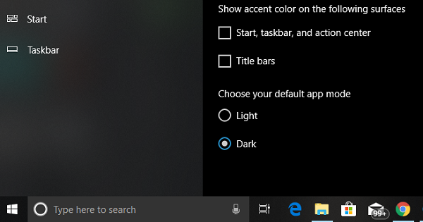 Black Cortana Search box
