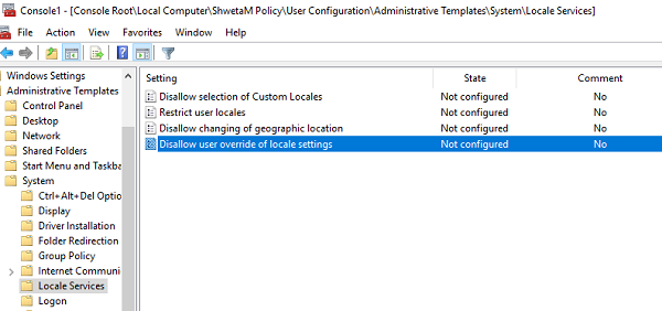 Change Group Policy for One Particular user