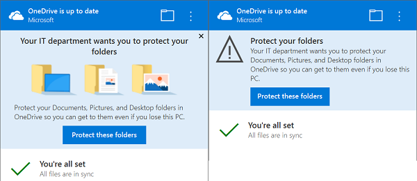 How to use Known Folder Move feature on OneDrive