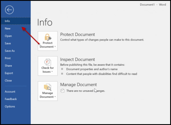 Track the Total Editing Time in Word document