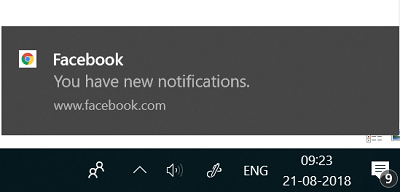Enable Chrome native notifications
