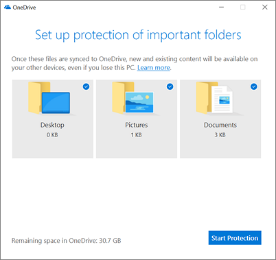 OneDrive-Folder-Protection