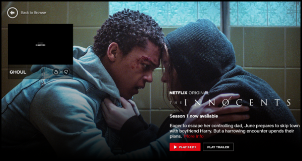 Stop Netflix app from auto-playing Trailers & Previews