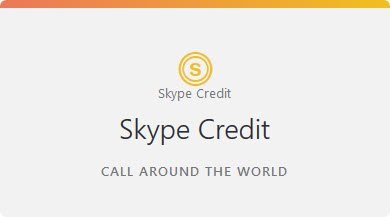 Skype Subscriptions or Skype Credit