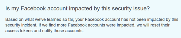Check if your Facebook Account was breached