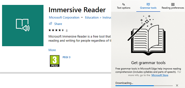 Immersive Reader in Edge