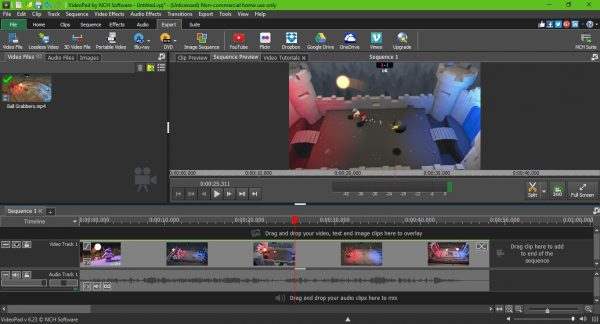 VideoPad Video Editor is a free video editing software for YouTube