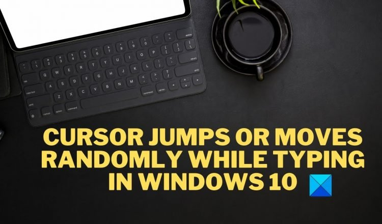 Mouse cursor jumps automatically