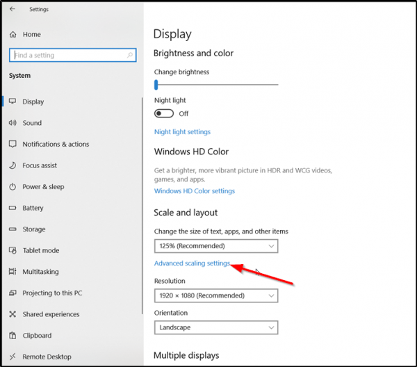 How to take High Resolution screenshots in Windows 10