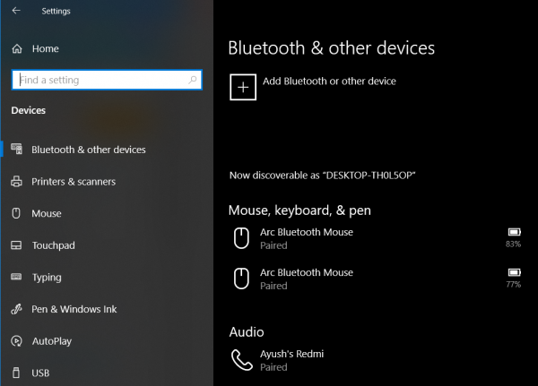 Toggle to turn Bluetooth On or Off is missing in Windows 10