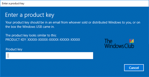 How to find product key in Windows 10