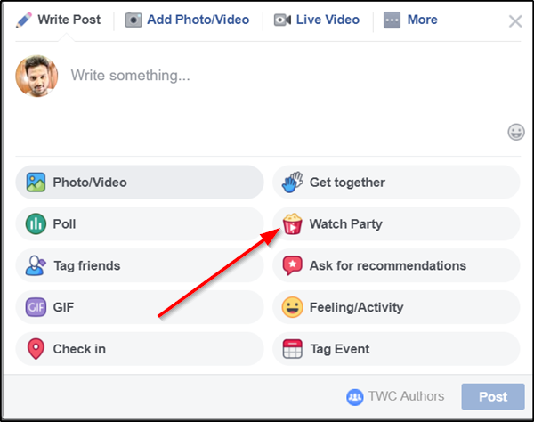 How To Do A Facebook Watch Party