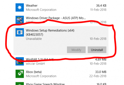 Windows Setup Remediations