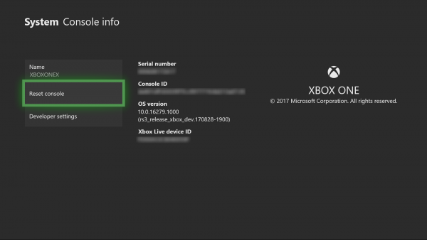 Xbox One is randomly uninstalling or deleting games on its own