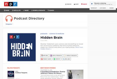 Best free podcast directories