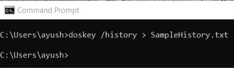 The Command Prompt is zip but a dark as well as white ascendence work utility that comes out of How to view, salve as well as clear Command Prompt ascendence History inwards Windows