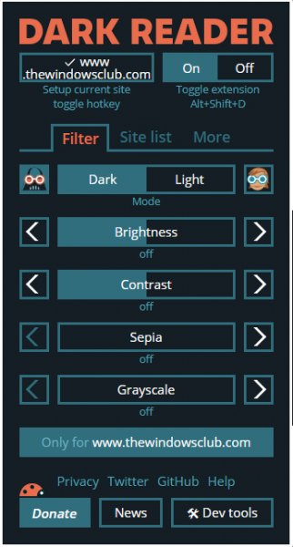 Are you lot a large fan of dark agency or dark themes Enable Dark Mode on whatever website using Dark Reader for Chrome together with Firefox