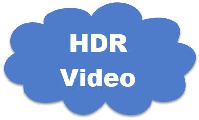 Display requirements for HDR video