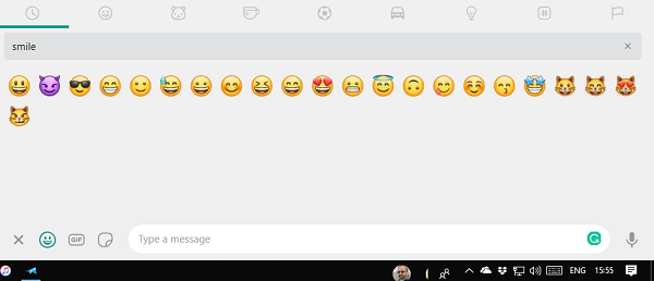 Emoji Shortcut for WhatsApp Web