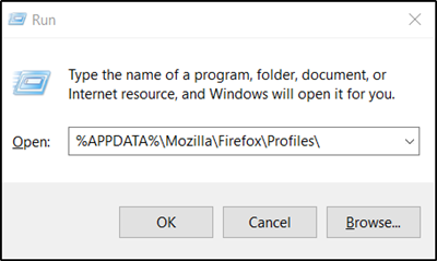 s Firefox saves personal data of its users such equally bookmarks How to uncovering Firefox Profile folder on Windows PC