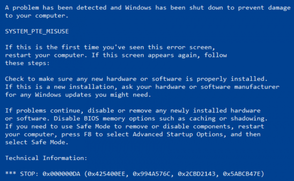 Though at that spot are many potential causes for  Fix SYSTEM_PTE_MISUSE Blue Screen of Death error