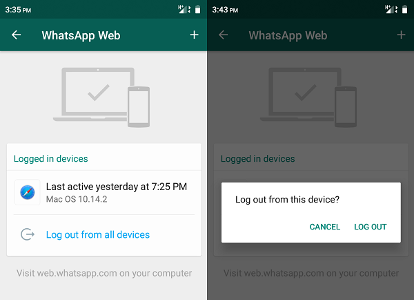 WhatsApp Web tips & tricks