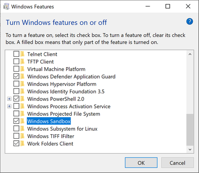 Some users convey been reporting that the  Windows Sandbox has no Internet connection