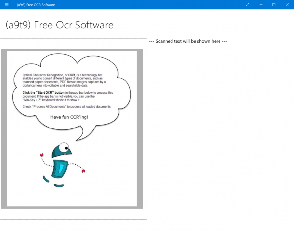 free ocr software for windows 10