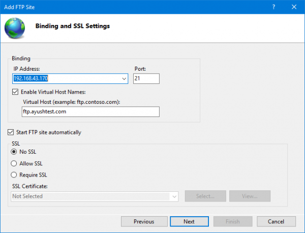 How to set up an FTP Server on Windows 10