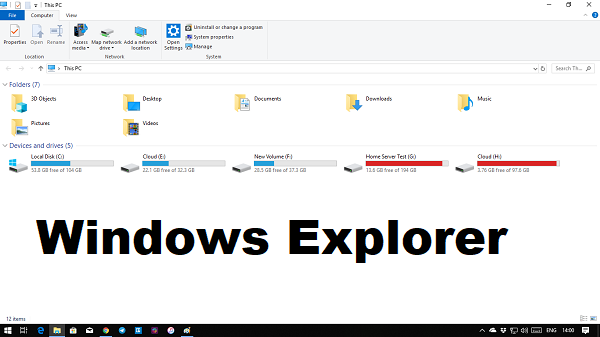 How to customize Explorer in Windows 10
