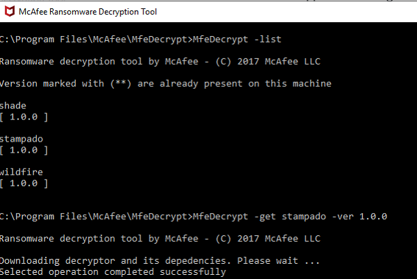 Download Ransomware decryption tool