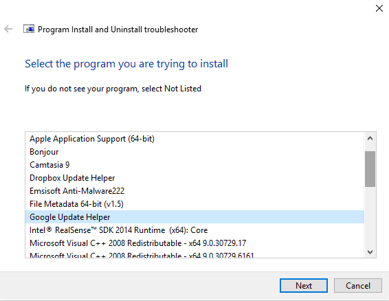 on Windows when installing or updating Chrome on Windows  Fix Chrome fault 1603  0x00000643 on Windows 10