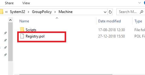 Group Policy FIle