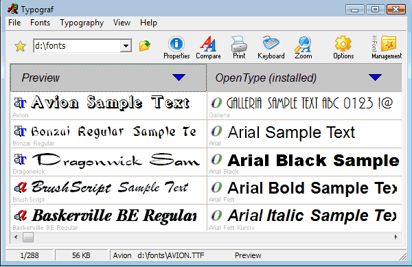 Best Free Font Manager Software For Windows 10