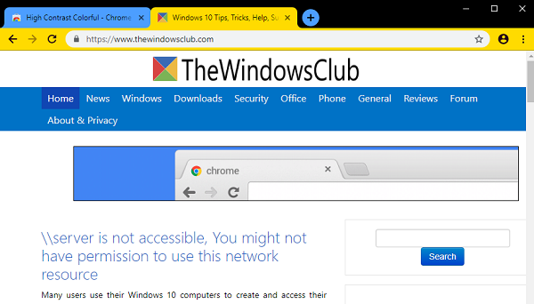 Download official Google Chrome themes for your browser