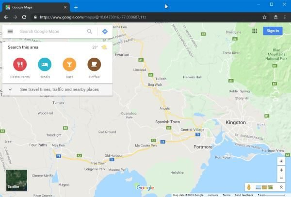 Google Maps is not working on Chrome