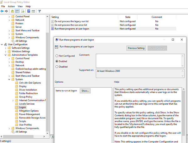 Group Policy Disable Firefox from Startup