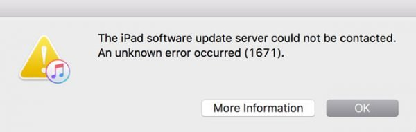 Error Code 1671 for iTunes on Windows 10