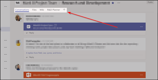 How to add Yammer page to Microsoft Teams in Office 365
