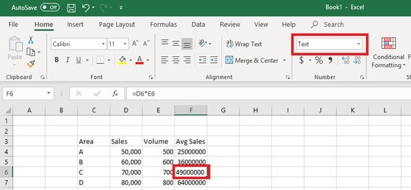 Excel Formulas not updating automatically