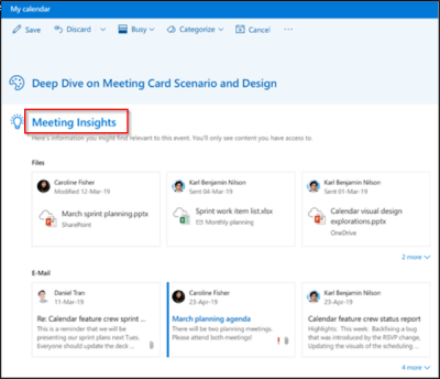 Intelligent Technology comes to Outlook on the Web