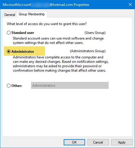 Run as administrator not working in Windows 10
